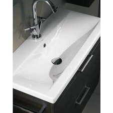 "Luna 32"" Fitted Ceramic Vanity Top"
