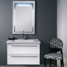 "Fly 37"" Wall Mounted Bathroom Vanity Set with Single Sink"
