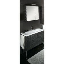 "<strong>Iotti by Nameeks</strong> Simple 39.3"" Wall Mounted Bathroom Vanity Set"