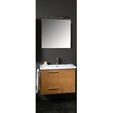 "Simple 32"" Wall Mounted Bathroom Vanity Set with Single Sink"