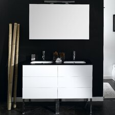 "Time 47"" Wall Mounted Bathroom Vanity Set with Single Sink"