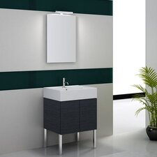 "Smile 31.1"" Footed Bathroom Vanity Set"