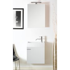 "Lola 21"" Single Wall Mounted Bathroom Vanity Set"