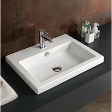 "Fitted 24"" Ceramic Vanity Top"