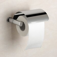 Cylinder Toilet Paper Holder with Cover