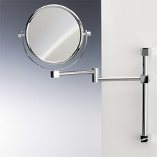 Double Face Wall Mounted 3X Magnifying Mirror with Two Arms and Two Brazo