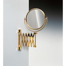 <strong>Windisch by Nameeks</strong> Double Face Wall Mounted Adjustable and Extendable 3X Magnifying Mirror