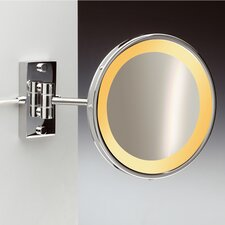 Incandescent Light 3X Magnifying Mirror with One Arm Direct Wired