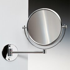 Cylindrical Double Face Makeup Mirror