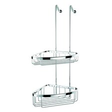 Basket Double Corner Shower Basket in Chrome