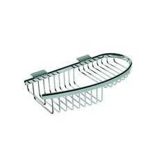 Basket Compact Soap / Sponge Holder in Chrome
