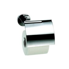 Circles Wall Mounted Toilet Paper Holder in Chrome