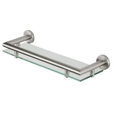 "Nemox 15.67"" Glass Shelf Tray"