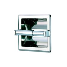 Standard Hotel Single Recessed Toilet Paper Holder in Stainless Steel