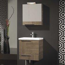 "Spazio 24"" Complete Bathroom Vanity Set with Single Sink"