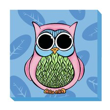 Owl Zoo Baby Canvas Art