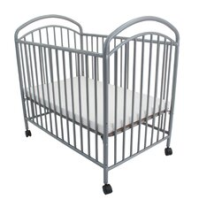 Classic Arched Compact Metal Crib