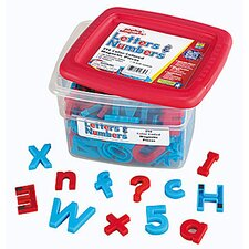 AlphaMagnets and MathMagnets Super Set-Color Coded