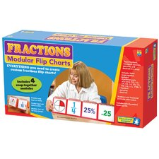 <strong>Educational Insights</strong> Fractions Modular Flip Charts