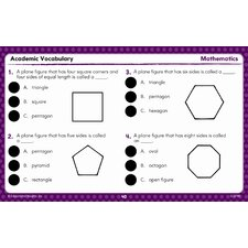 <strong>Educational Insights</strong> Hot Dots Academic Vocabulary Card Sets Grades 1-3