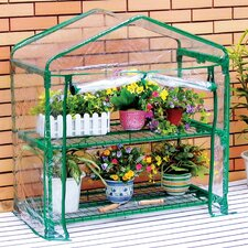 "GreenThumb 36"" W x 19"" D Classroom Growing Rack Greenhouse"