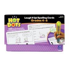 Hot Dots® Laugh It Up! Spelling, Grades 4-6