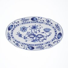 "23cm Ovale Platte ""Rosella"" aus Porzellan"