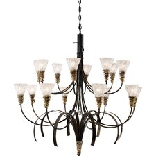 <strong>Landmark Lighting</strong> Equinox 16 Light Chandelier