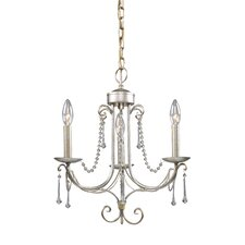 <strong>Landmark Lighting</strong> Cambridge 3 Light Mini Chandelier