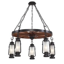 Chapman 5 Light Outdoor Chandelier