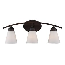 <strong>Landmark Lighting</strong> Tempest 3 Light Vanity Light