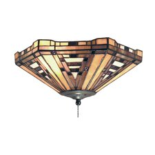 <strong>Landmark Lighting</strong> American Art Fan Kit / Ceiling Mount in Classic Bronze