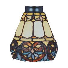 "Mix-N-Match 5.25"" Floret Design Glass Shade"