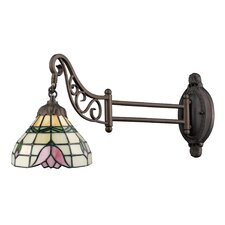 Mix-N-Match Flower Swing Arm Wall Sconce