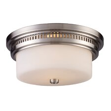 "5"" Chadwick 2 Light Flush Mount"
