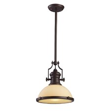 <strong>Landmark Lighting</strong> Chadwick 1 Light Pendant