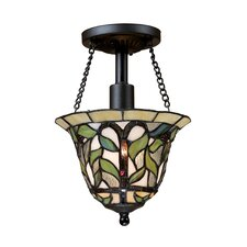 Latham 1 Light Semi Flush Mount