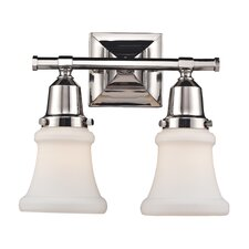 Barton 2 Light Bath Vanity Light