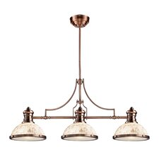 <strong>Landmark Lighting</strong> Chadwick 3 Light Billiard/Kitchen Island Pendant