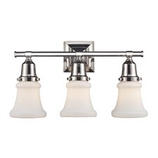<strong>Landmark Lighting</strong> Barton 3 Light Bath Vanity Light