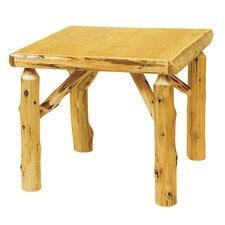 Traditional Cedar Log Game Table