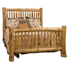 Traditional Cedar Log Slat Bedroom Collection
