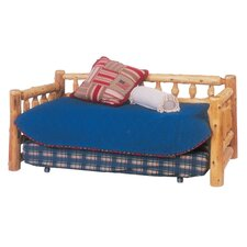 <strong>Fireside Lodge</strong> Traditional Cedar Log Slat Bedroom Collection