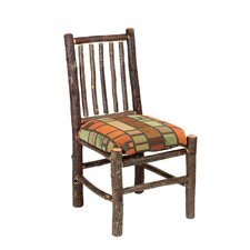 <strong>Fireside Lodge</strong> Hickory Spoke Back Side Chair