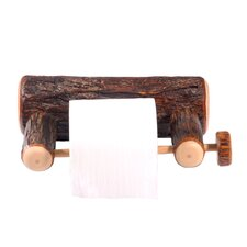<strong>Fireside Lodge</strong> Hickory Wall Mounted Toilet Paper Holder