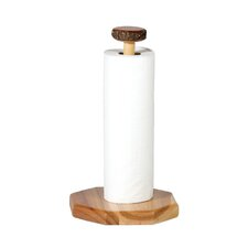<strong>Fireside Lodge</strong> Hickory Free Standing Paper Towel Holder