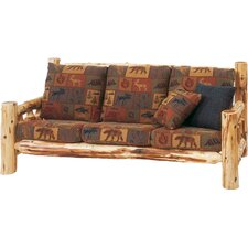 Traditional Cedar Log Sofa