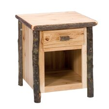 Hickory Nightstand