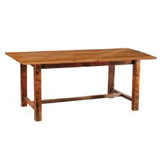 <strong>Fireside Lodge</strong> Reclaimed Barnwood Dining Table