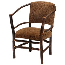 Hickory Hoop Fabric Arm Chair